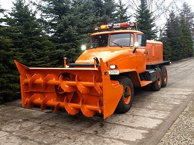 Modernizacje plugów wirnikowych do śniegu