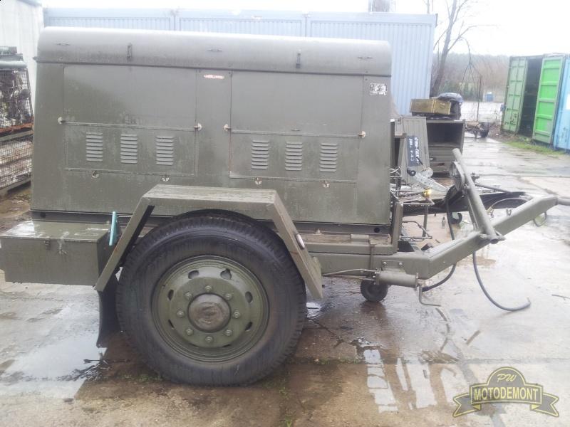 W superbly Agregat prądowtwórczy 20kVA 16kW - Przyczepa - 46MTG | P.W. Motodemont VU51